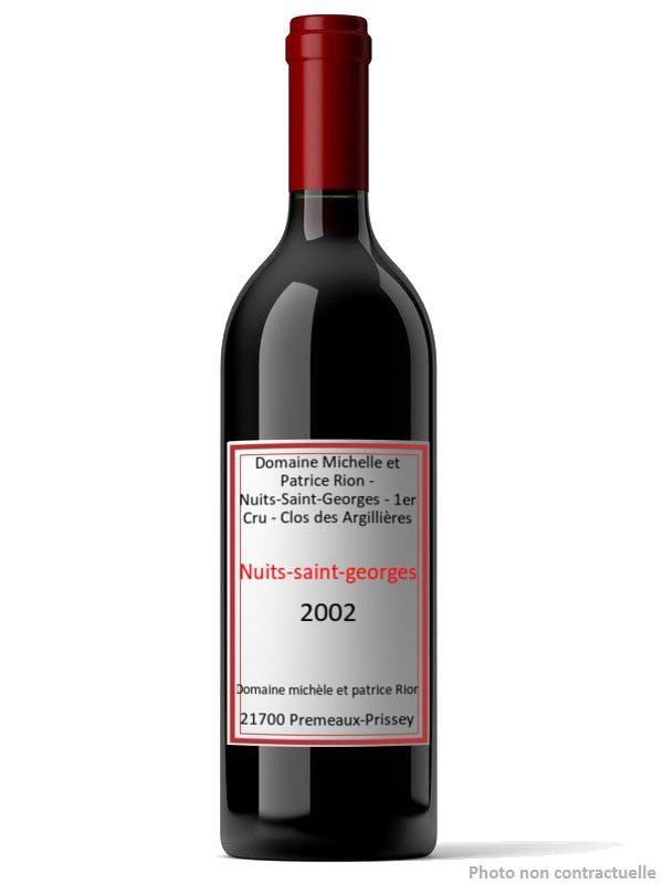Maison Patrice Rion Nuits Saint Georges Vieilles Vignes
